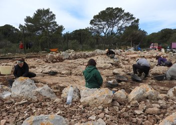 Renewed work at Cap de Barbaria II dig site
