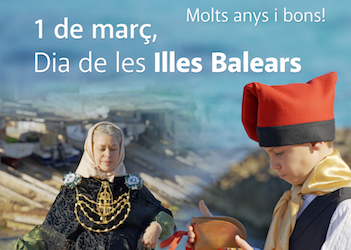 On Balearic Islands Day, Consell shares remarks by President Ferrer and virtual dance demonstration
