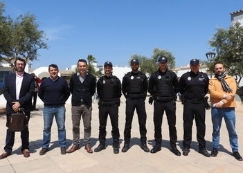 Meeting of local police students in the Balearics takes place on Formentera