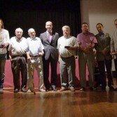 I Diada de Formentera :: Foto de grup autoritats i premiats
