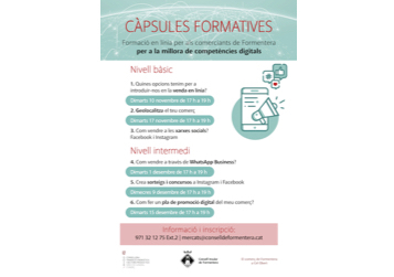 cartell 2020 capsules formatives