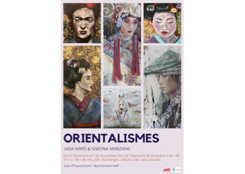 """Orientalismos"" arrives Monday at 'Ajuntament Vell' gallery"